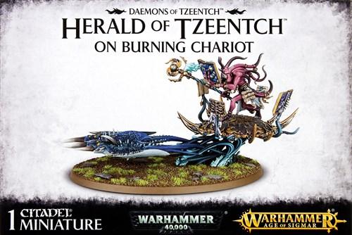 Herald Of Tzeentch On Burning Chariot - фото 101687