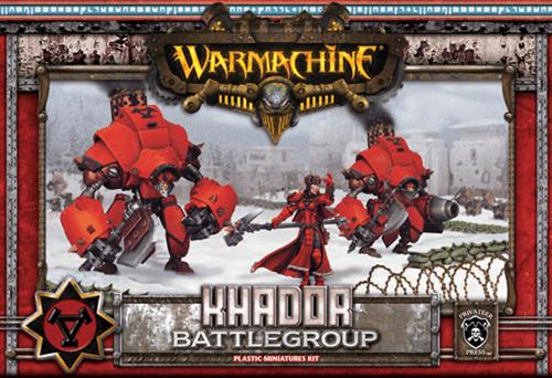 Khador MkII Battlegroup Box (3 Plastic Models) Starter BOX - фото 10915