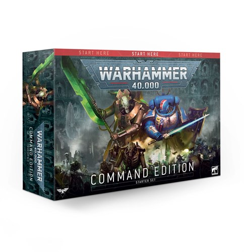 Warhammer 40000 Starter Command Edition (eng) - фото 110288