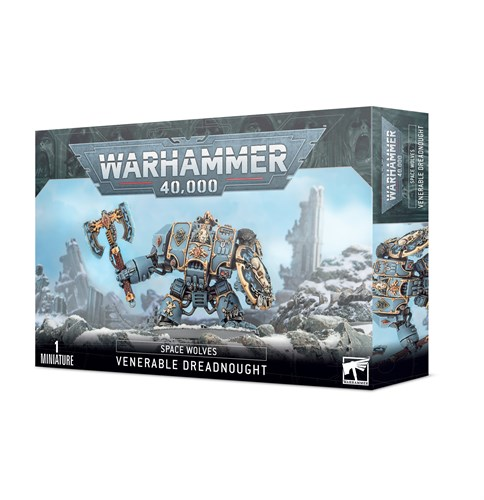 Space Wolves Venerable Dreadnought Warhammer 40000 - фото 112140