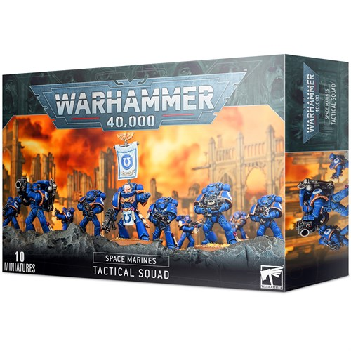 Tactical Squad Warhammer 40000 - фото 115116