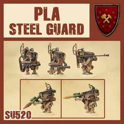 Pla Steel Infantry (собранная модель) - фото 115832