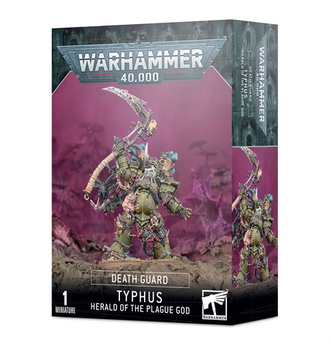 Typhus: Herald Of The Plague God Warhammer 40000 - фото 116015