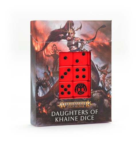 Daughters Of Khaine Dice Set - фото 116045