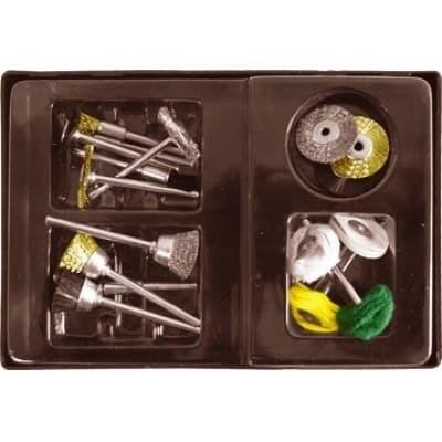 Корщетки/шарошки 17шт.,набор в чемодане - фото 11688