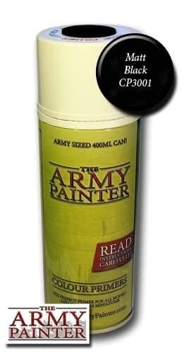 Спрей грунтовка ARMY PAINTER Черный - фото 11691
