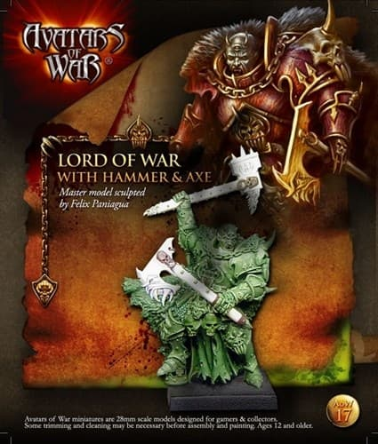 Lord of Chaos Hammer- Axe BLI - фото 11851