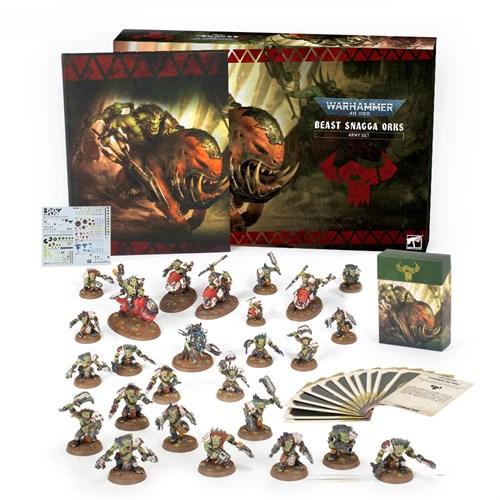 Beast Snagga Orks Army Set (eng) Warhammer 40000 - фото 120783