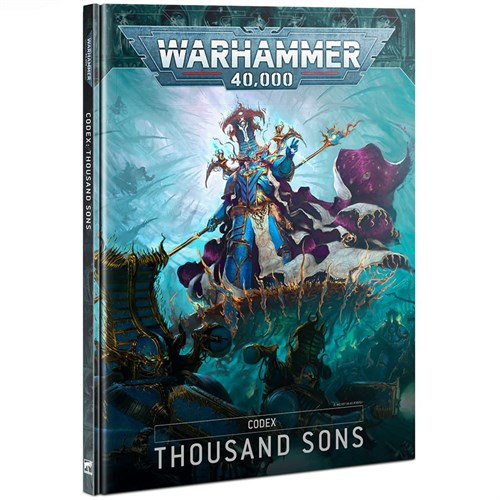 Codex: Thousand Sons (HB) (English) Warhammer 40000 - фото 121157