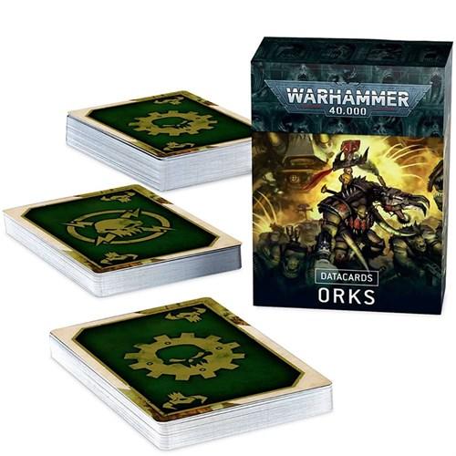 Datacards: Orks (English) Warhammer 40000 - фото 121716