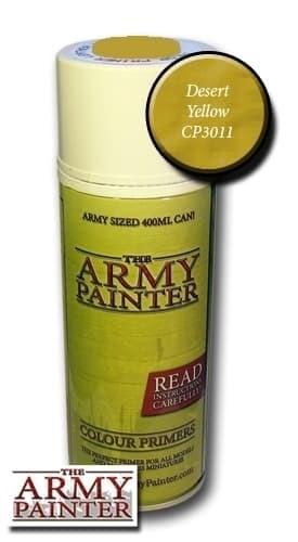 Спрей грунтовка ARMY PAINTER Desert yellow (Пустынно-) - фото 12552