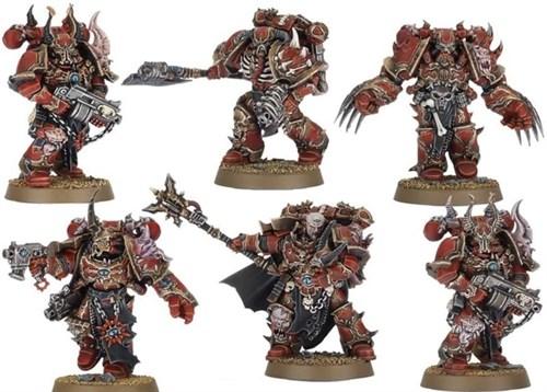 Draznicht's Ravagers: Chosen из стартера Dark Vengeance - фото 12585