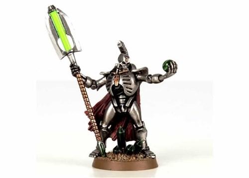 Лорд Некронов со сферой воскрешения (Necron Lord With Resurrection Ord) - фото 12732