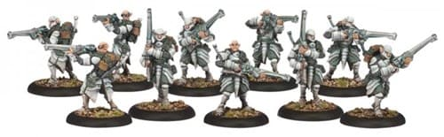 Retribution Houseguard Riflemen Unit (10 Models) BOX* - фото 13053