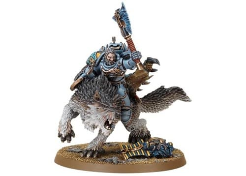 "Лорд Волков верхом на Волке Грома"" (Wolf Lord on Thunderwolf) - фото 13091"