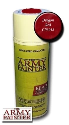 Спрей Грунтовка ARMY PAINTER Dragon Red (Красный) - фото 13297