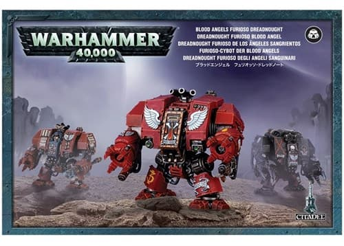 Blood Angels Furioso Dreadnought - фото 13485