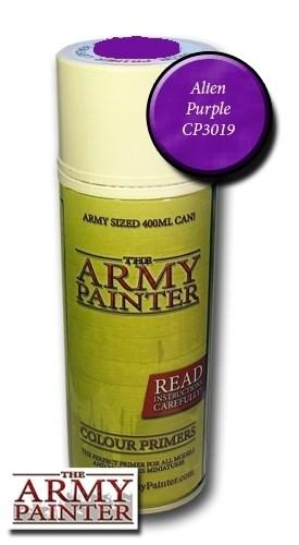 (!) Спрей Грунтовка Army Painter Alien Purple (Фиолетовый) - фото 13986