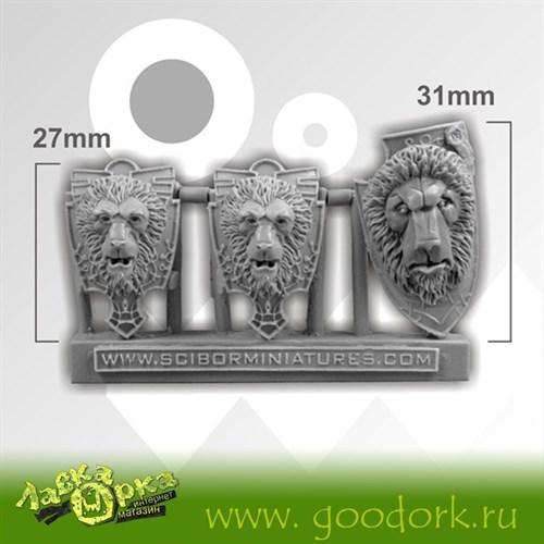 Lion Shields (3) - фото 14385