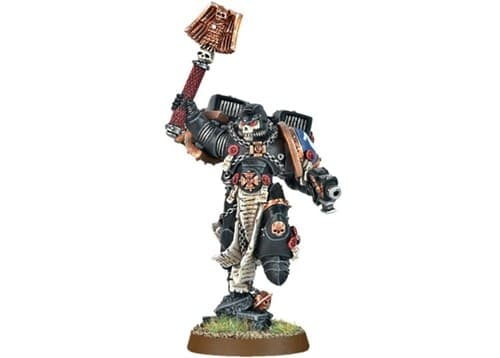 Space Marine Chaplain With Jump Pack - фото 14705