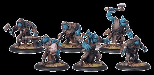 Trollblood Trollkin Scout Unit BOX - фото 15127