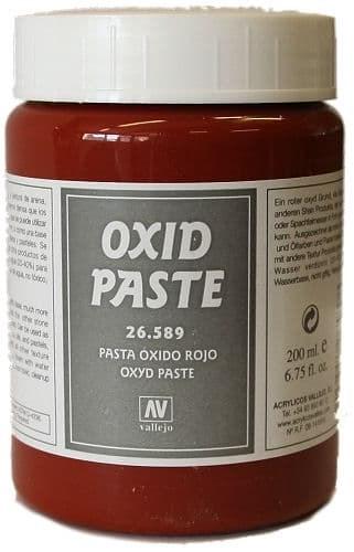 Имитация рельефа - красная окись 30мл (Red Oxide Paste) - фото 15326