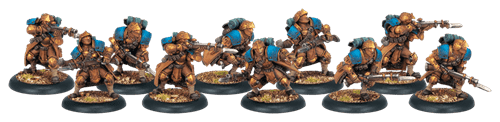 Cygnar Trencher Infantry Unit (10) BOX* - фото 15724