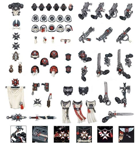 Black Templars Chapter Upgrade - фото 15869
