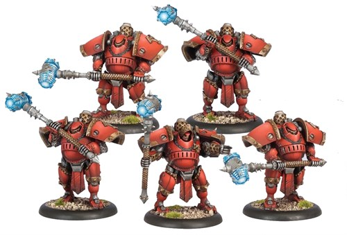 Khador Man O War Demo Corps Plastic BOX - фото 15999