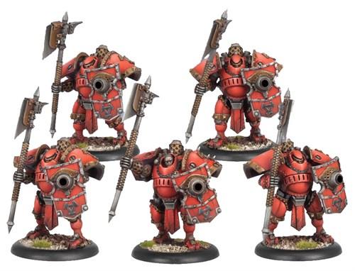 Khador Man O War Shocktrooper Unit BOX - фото 16045