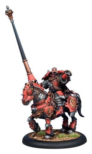 Khador Kovnik Markov Cavalry BLI - фото 16076