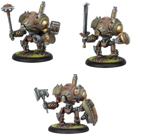 Mercenary Mule/Nomad/Rover Heavy Warjack Plastic BOX - фото 16452