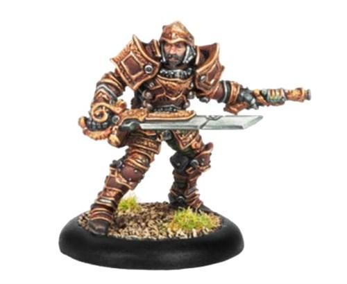 Mercenary Warcaster Captain Damiano BLI - фото 16546