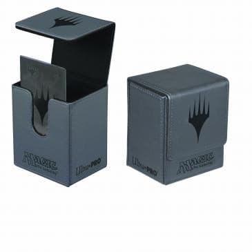 """Кожаная коробочка """"Ultra-Pro"""" (маг., на 100 карт в протекторах): рисунок """"Символ Плейнсволкера"""" - фото 17655"""