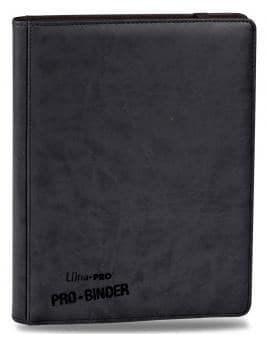"""Альбом """"Ultra-Pro"""" """"Pro-Binder"""" (премиум с листами по 3х3 кармашка. искусственная кожа): черный - фото 17657"""