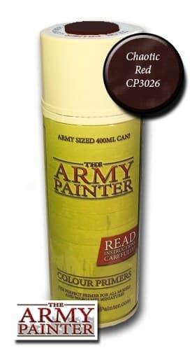 Спрей грунтовка ARMY PAINTER Chaotic Red (Красная) - фото 17706