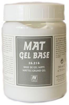 Mat Gel Base 200ml (Матовая Гелевая Основа) - фото 17789