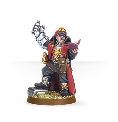 Commissar with Power Fist - фото 17867