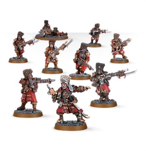 Vostroyan Firstborn Squad - фото 17890