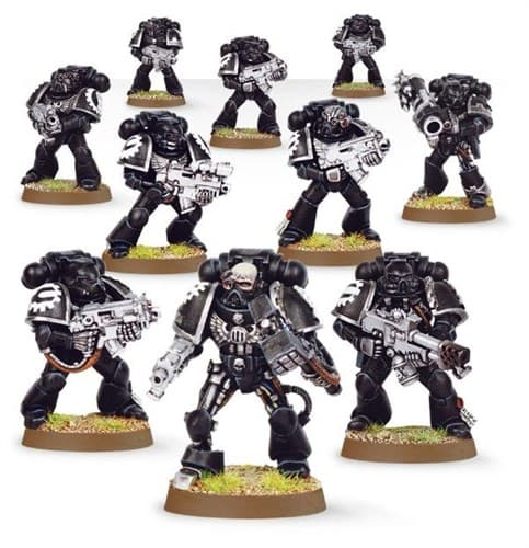 Iron Hands Tactical Squad Upgrade Pack - фото 19153