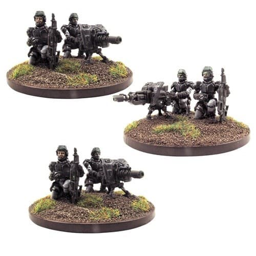 Warpath Corporation Heavy Weapons Teams - фото 19516