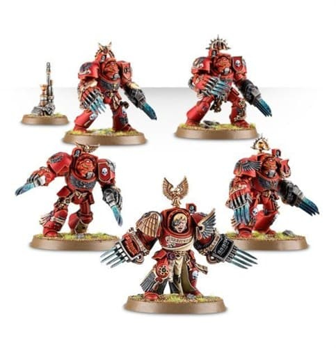 Blood Angels Terminator Assault Squad - фото 19570