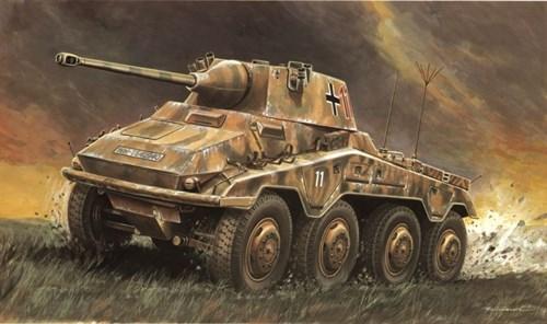 Танк  Sd.Kfz. 234/2 Puma (1:35) - фото 19664