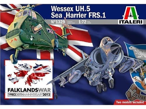 Вертолет  WESSEX UH.5 & SEA HARRIER FRS.1 Falkland (1:72) - фото 19853