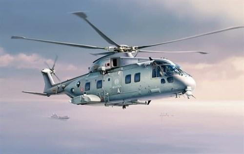 Вертолет  Agusta-Westland AW-101 SKYFALL (1:72) - фото 19868