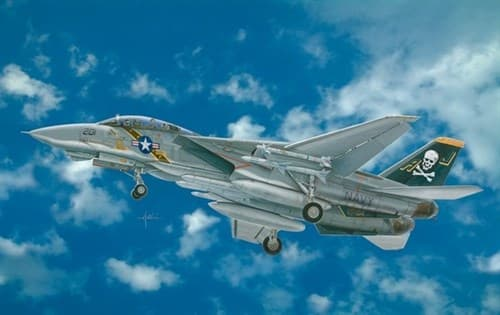 Самолет  F-14A TOMCAT (1:48) - фото 20124