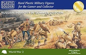 28mm Russian Infantry in Summer Uniform - фото 20199