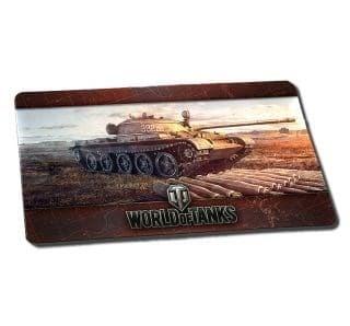 World of Tanks, коврик для мыши Т-62А (590x345x1 мм)1325 - фото 20245