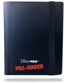 """Альбом """"Ultra-Pro"""" """"PRO-BINDER"""" (со встроенными листами по 2 кармашка, для карт в протекторах): черный - фото 20246"""