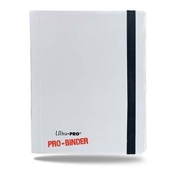 """Альбом """"Ultra-Pro"""" """"PRO-BINDER"""" (со встроенными листами по 2х2 кармашка, для карт в протекторах): белый - фото 20247"""